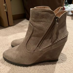 Wedge booties from Buckle